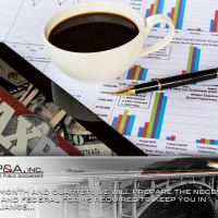 AP&A Accountants will send you monthly reports, keeping you on top of everything.