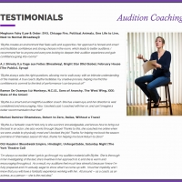Blythe Auffarth, Global Audition Coaching
