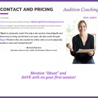Blythe Auufarth, Audition Coaching
