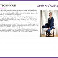 Blythe Auffarth, Global Audition Coaching