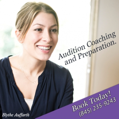 iStunt Sponsor: Blythe Auffarth Audition Coaching