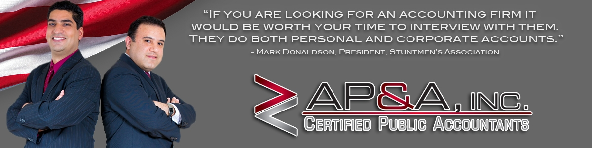 "AP&P Certified Public Accountants... ""Dedicated to the Stunt Community."""